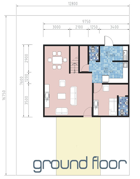 Affordable low and high rise honeycomb housing squares at for Quadruplex floor plans