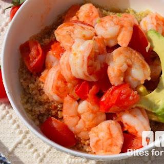 Warm Shrimp Quinoa Bowl