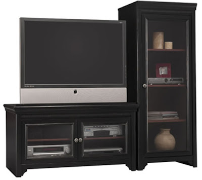 Bush Stanford Audio Cabinet.AD53940-2