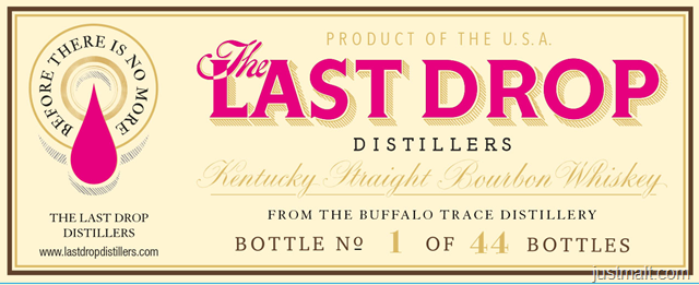The Last Drop Distillers Kentucky Straight Bourbon Whiskey