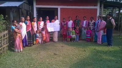 Dream building and self assessment at Jalukbari, Kamrup