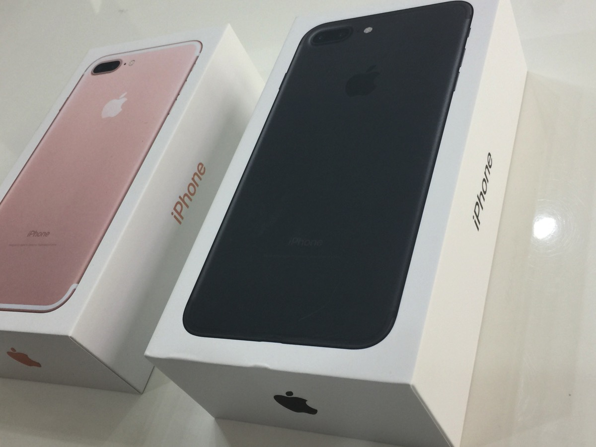 """Here they are: iPhone 7 PLUS - """"Matte"""" Black 256 GB and iPhone 7 PLUS - Rose  Gold 32 GB. I will be unboxing these and will be giving my first  impressions."""