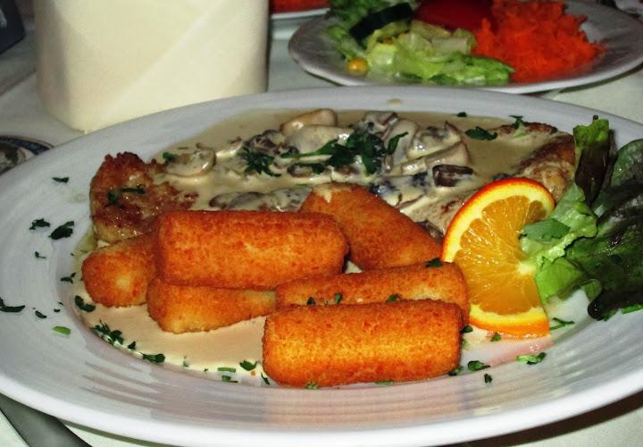 Champignon schnitzel