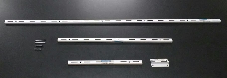 Trilhos Versátil em Aço (Fico Ferragens)
