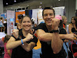 Tony Horton With Student Ready To Fun