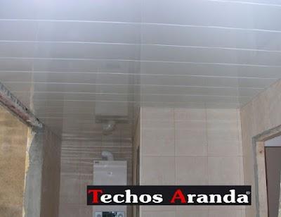 Negocios locales techos de aluminio para baños Madrid