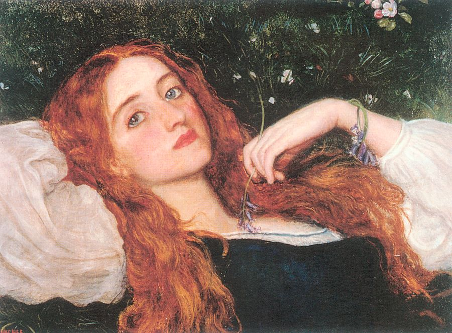 Arthur Hughes - In the Grass