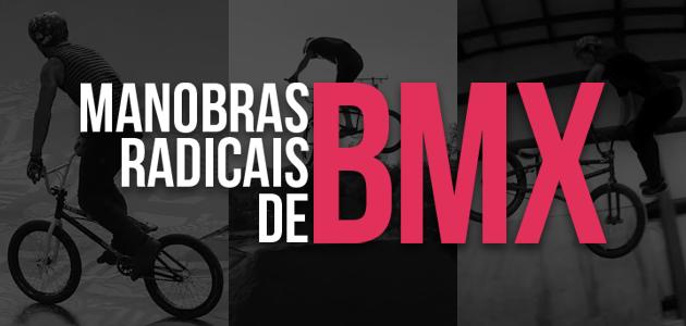 3 vídeos com manobras radicais de BMX