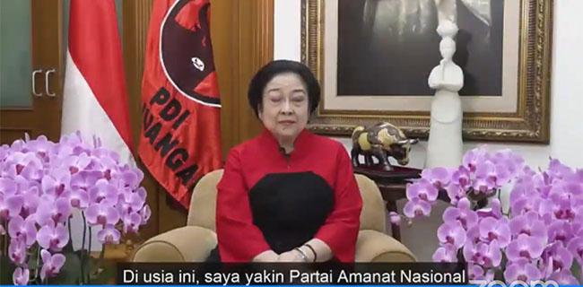 Jokowi Dan Megawati Kompak Minta PAN Pegang Teguh Semangat Reformasi