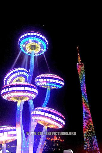 Canton Tower Night Photo 3 2013