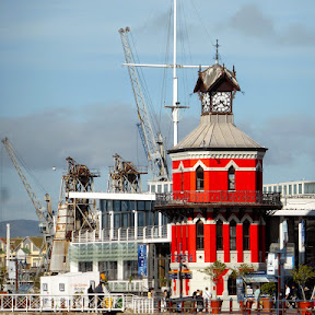 Clock Tower in V&A Waterfront