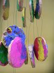 scultura nell'aria opera dei bambini di 3 anni, scuola Collodi Fabro Scalo