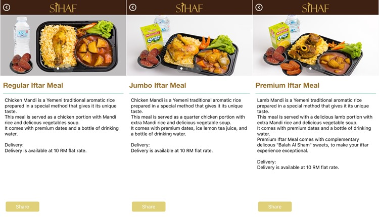 sihaf_delivery_shah_alam_arabic_foods