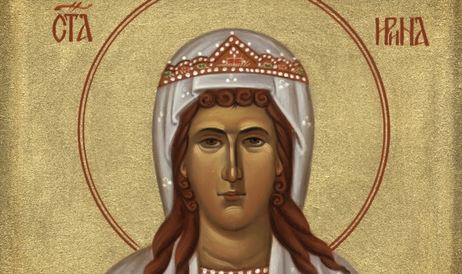 St Irene: voice of the messiah to her people
