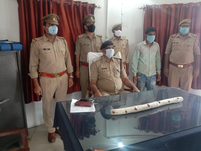 करनैलगंज - पत्नी हत्यारा हुआ गिरफ्तार।