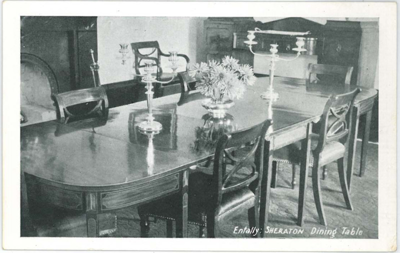 Sheraton Dining Table at Entally House