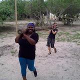 Building day at Shakawe