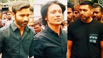 Movie stars at the Silent Jallikattu protest | Latest Coverage