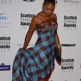 WWW.ENTSIMAGES.COM -   Karen Bryson  at    Scottish Fashion Awards  at 8 Northumberland London October 9th 2013                                                 Photo Mobis Photos/OIC 0203 174 1069