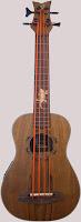 Ortega Lizard Electro-Acoustic Bass