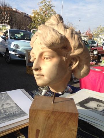 Statuette terracotta