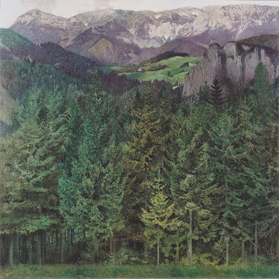 Koloman Moser - Blick auf die Rax - 1907
