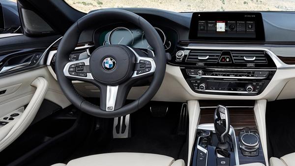 new bmw 5-series interior
