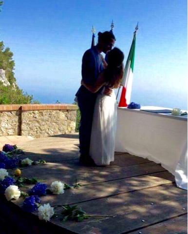 Bröllop Capri