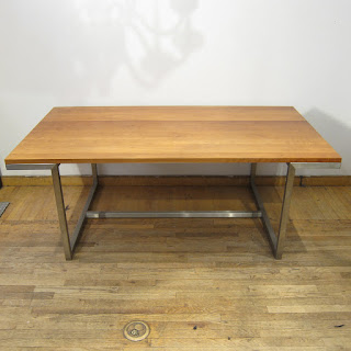 Contemporary Cherry Top Dining Table