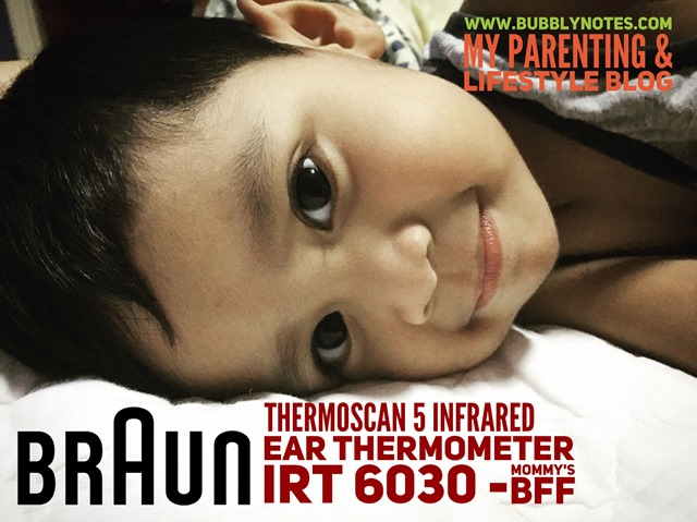 BRAUN THERMOSCAN 5 INFRARED EAR THERMOMETER IRT 6030 - MOMMY'S BFF