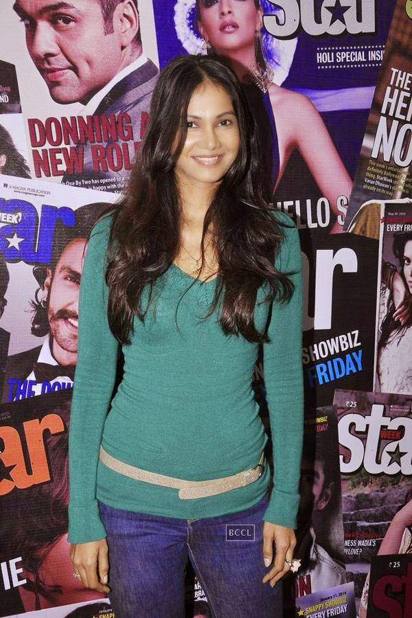 Rupali Suri during the cover launch of Star Week magazine, in Mumbai, on July 31, 2014. (Pic: Viral Bhayani)