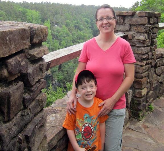 Joe & Michelle at Cedar Falls