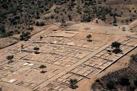 τοπογραφικό και δόμηση της αρχαίας Ολύνθου στην Χαλκιδική της Ελλάδος.