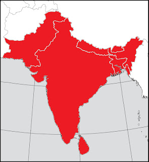 Indian Subcontinent Map All Subcontinent   Avian Review