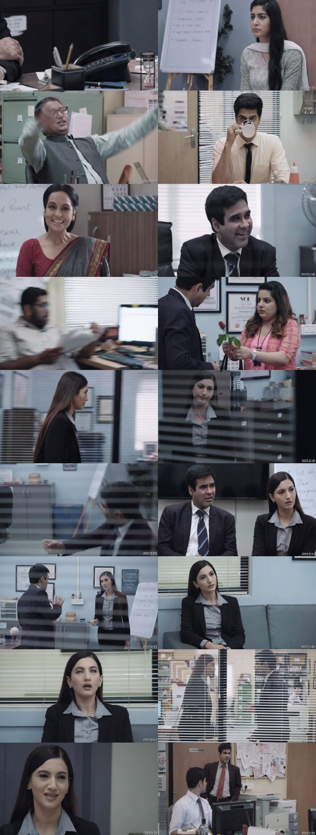 Screenshots Of Hindi Show The Office Season 02 2019 Complete - All Episodes 300MB 480P HD