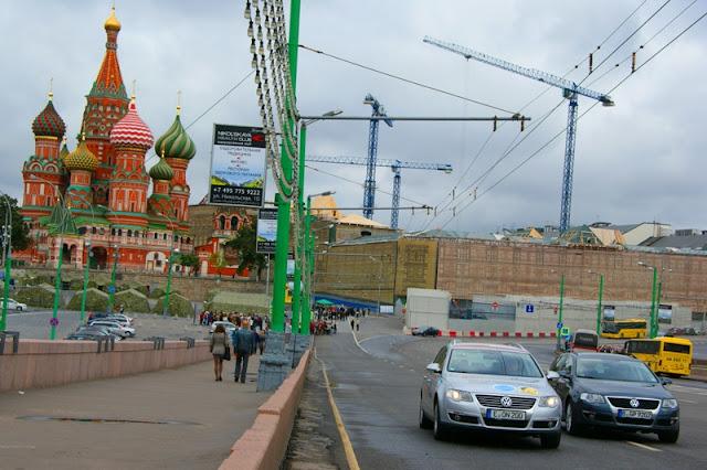 Blue Corridor 2012. Start Konwoju Pojazdów CNG i LNG w Moskwie - 8 września 2012