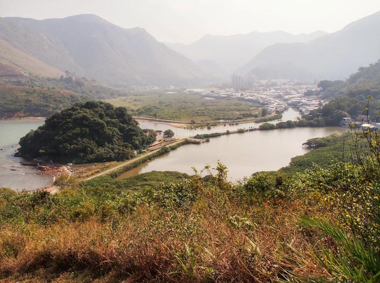 Hiking around Lantau Island
