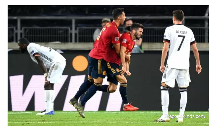 Uefa Nations League Germany 1 Vs 1 Spain Highlights 2020 Report Minds