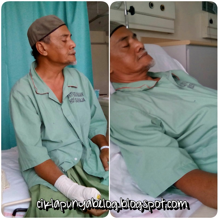 Dugaan : Abah excident!