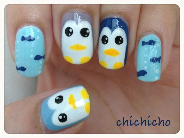 企鵝指甲~
