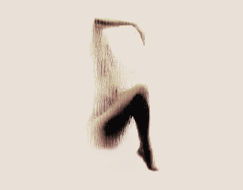 *女性裸體字母剪影:希臘藝術家Anastasia Mastrakouli 解剖人體視覺奧秘! 8