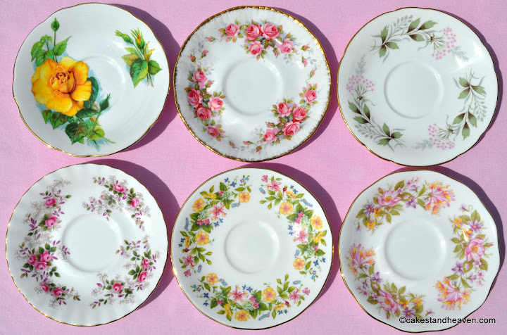 six teacups & saucers 2