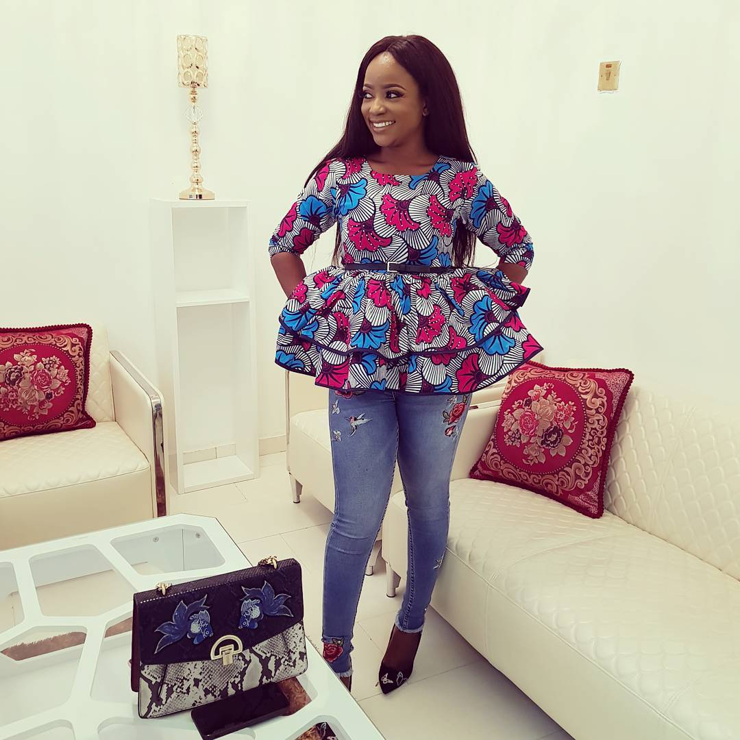 Creative Ankara Blouse And Jeans Styles Download Latest Ankara Styles 2018 Asoebi For Wedding