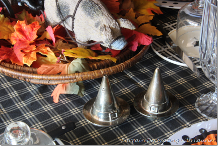 Salt and Pepper Shakers for Halloween Table