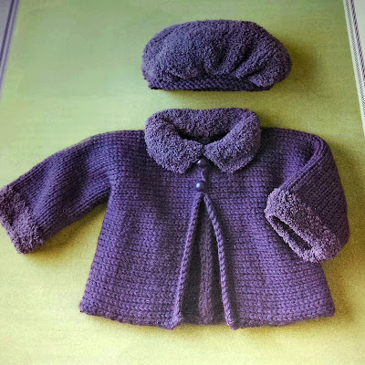 giacchina bimbo artigianale fatta ai ferri
