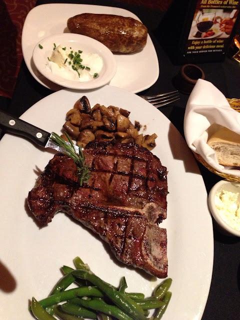 2nd Street Grille T-bone Steak