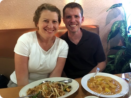 double date - Thai restaurant