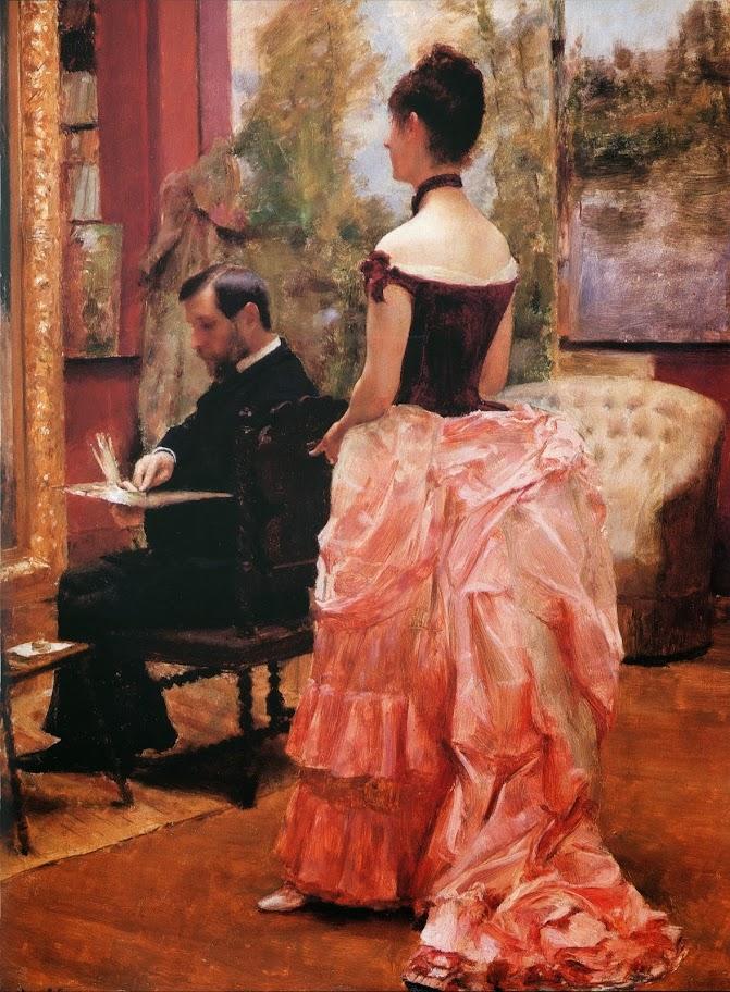 Émile Friant - The Study
