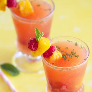 Mango-Raspberry Sangria.