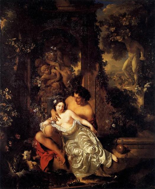 Adriaen van der Werff - Shepherd and Shepherdess
